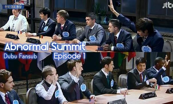 abnormal summit episode 1 vostfr