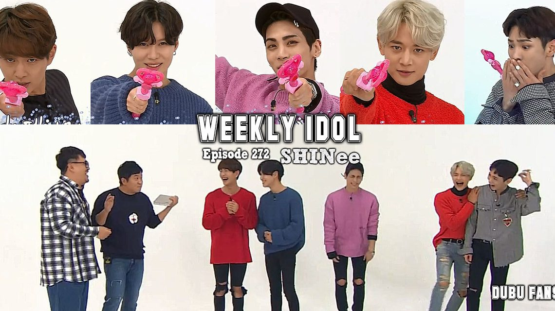 Weekly Idol épisode 272 vostfr (SHINee) + nouvelle chaîne Youtube