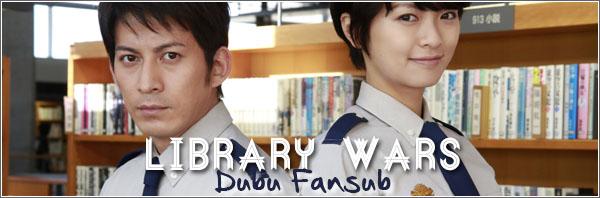 library wars vostfr toshokan sensou