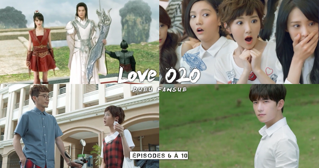 Noël ! Love O2O Just One Smile Is Very Alluring épisodes 6 à 10 vostfr + Legend Of the Blue Sea épisodes 6 & 7 vostfr