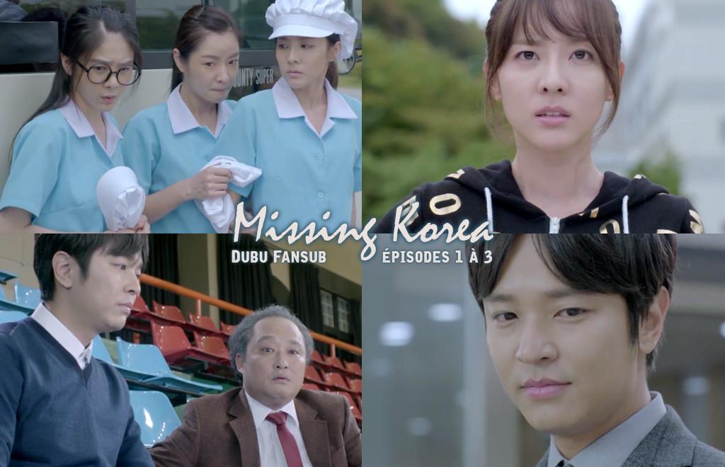 missing korea episodes 1 à 3 vostfr