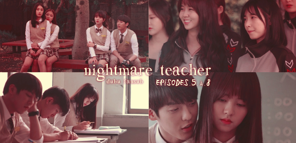 Nightmare Teacher épisodes 5 à 8 vostfr + Your Lie In April trailer
